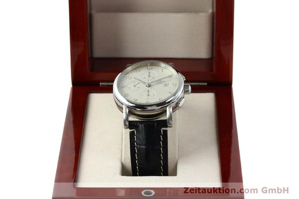 Used luxury watch Mühle Antaria chronograph steel automatic Kal. MU 9408 ETA 7750 Ref. M1-39-00  | 141760 07