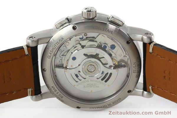 Used luxury watch Mühle Antaria chronograph steel automatic Kal. MU 9408 ETA 7750 Ref. M1-39-00  | 141760 09
