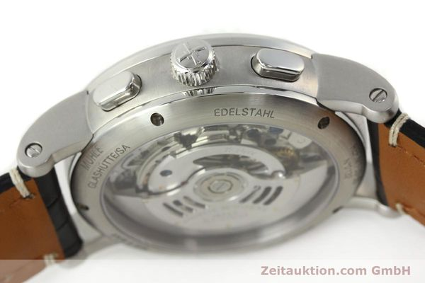 Used luxury watch Mühle Antaria chronograph steel automatic Kal. MU 9408 ETA 7750 Ref. M1-39-00  | 141760 11