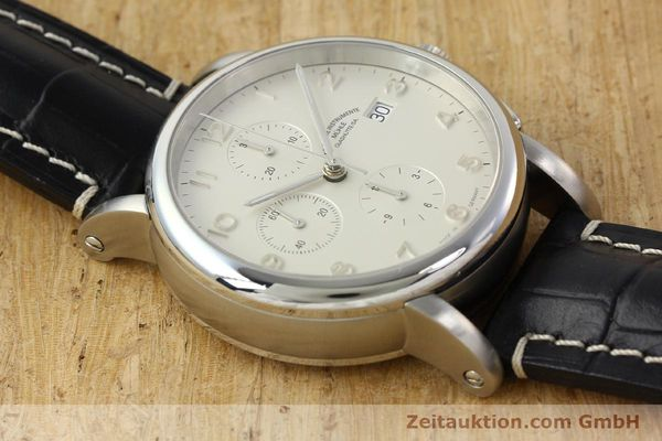 Used luxury watch Mühle Antaria chronograph steel automatic Kal. MU 9408 ETA 7750 Ref. M1-39-00  | 141760 14