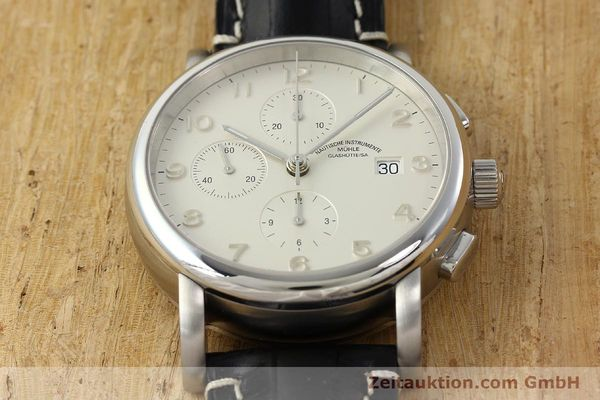 Used luxury watch Mühle Antaria chronograph steel automatic Kal. MU 9408 ETA 7750 Ref. M1-39-00  | 141760 15