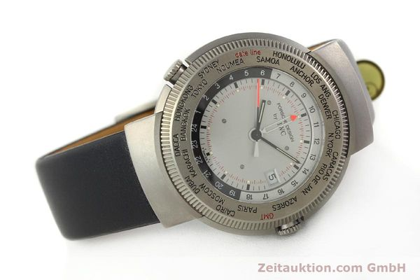 Used luxury watch IWC Porsche Design titanium quartz Kal. 643 Ref. 3821/3822  | 141761 03