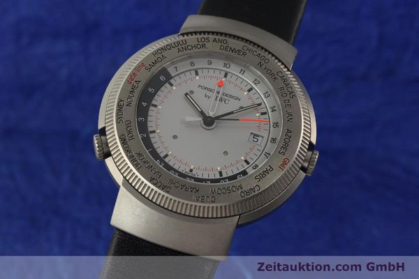 Used luxury watch IWC Porsche Design titanium quartz Kal. 643 Ref. 3821/3822  | 141761 04