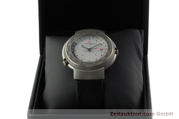 Used luxury watch IWC Porsche Design titanium quartz Kal. 643 Ref. 3821/3822  | 141761 07