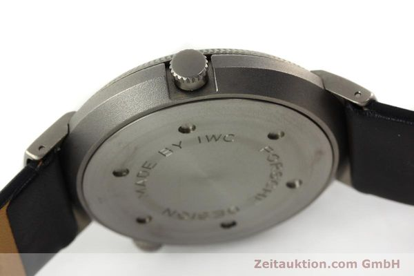 Used luxury watch IWC Porsche Design titanium quartz Kal. 643 Ref. 3821/3822  | 141761 11