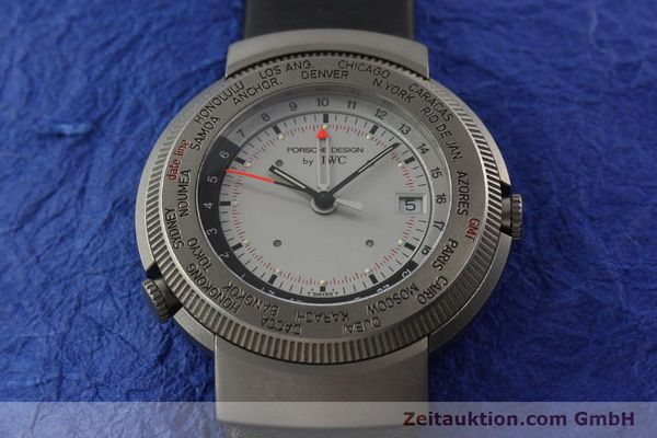Used luxury watch IWC Porsche Design titanium quartz Kal. 643 Ref. 3821/3822  | 141761 16