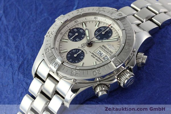 Used luxury watch Breitling Superocean steel automatic Kal. B13 ETA 7750 Ref. A13340  | 141762 01
