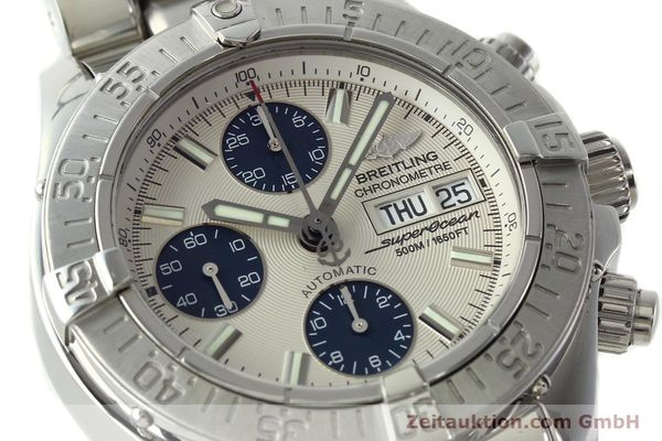 Used luxury watch Breitling Superocean steel automatic Kal. B13 ETA 7750 Ref. A13340  | 141762 02