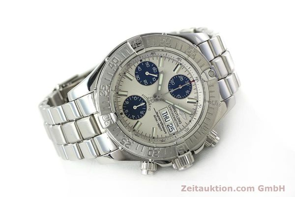 Used luxury watch Breitling Superocean steel automatic Kal. B13 ETA 7750 Ref. A13340  | 141762 03