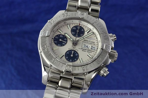 Used luxury watch Breitling Superocean steel automatic Kal. B13 ETA 7750 Ref. A13340  | 141762 04