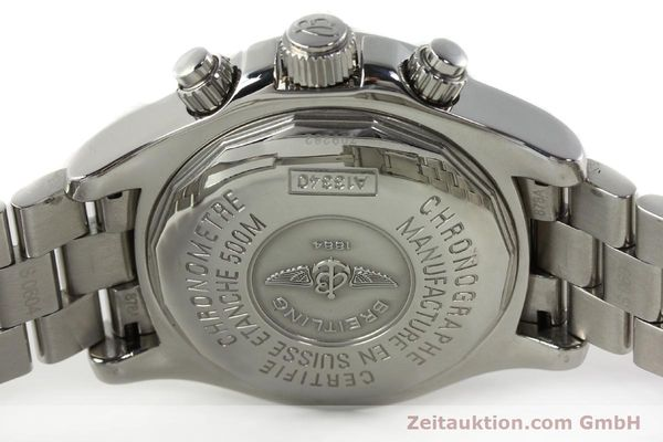 Used luxury watch Breitling Superocean steel automatic Kal. B13 ETA 7750 Ref. A13340  | 141762 09