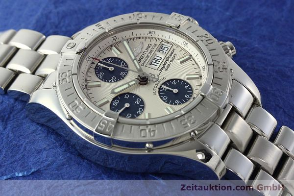 Used luxury watch Breitling Superocean steel automatic Kal. B13 ETA 7750 Ref. A13340  | 141762 14