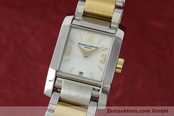 Used luxury watch Baume & Mercier Hampton gilt steel quartz Kal. BM7111 ETA F03111 Ref. 65489  | 141763 04