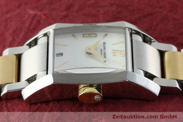 Used luxury watch Baume & Mercier Hampton gilt steel quartz Kal. BM7111 ETA F03111 Ref. 65489  | 141763 05