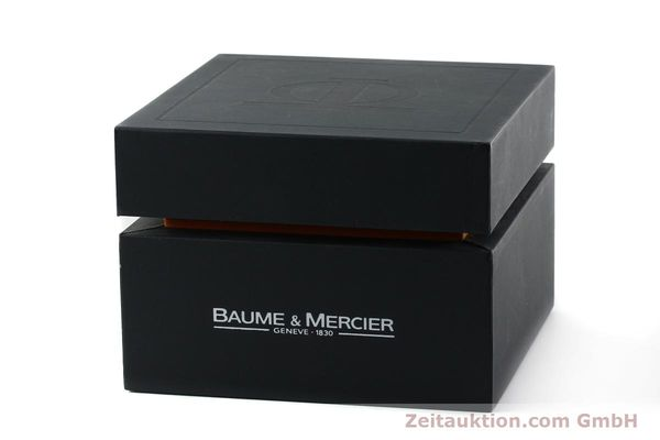 Used luxury watch Baume & Mercier Hampton gilt steel quartz Kal. BM7111 ETA F03111 Ref. 65489  | 141763 06