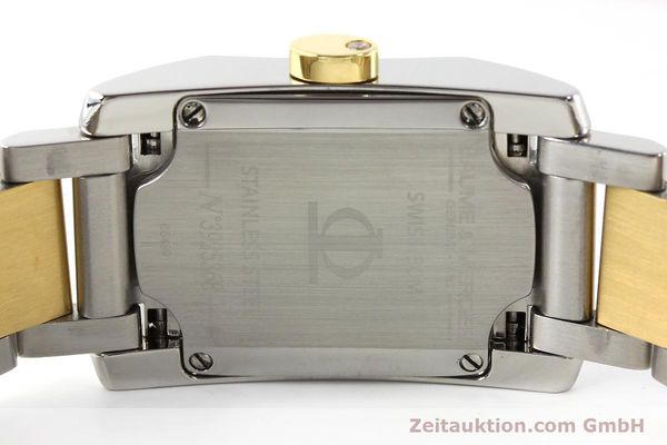 Used luxury watch Baume & Mercier Hampton gilt steel quartz Kal. BM7111 ETA F03111 Ref. 65489  | 141763 09