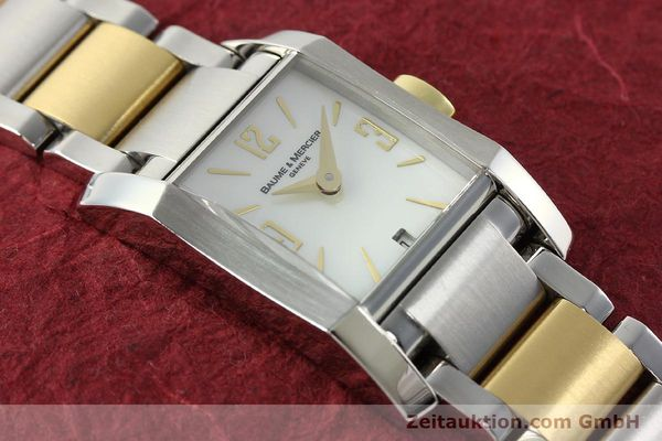 Used luxury watch Baume & Mercier Hampton gilt steel quartz Kal. BM7111 ETA F03111 Ref. 65489  | 141763 14