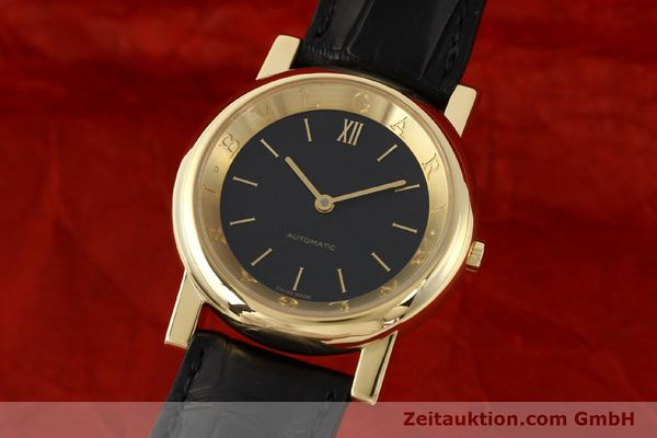 Used luxury watch Bvlgari Anfiteatro 18 ct gold automatic Kal. 220-MBBE Ref. AT35GLAUT  | 141764 04