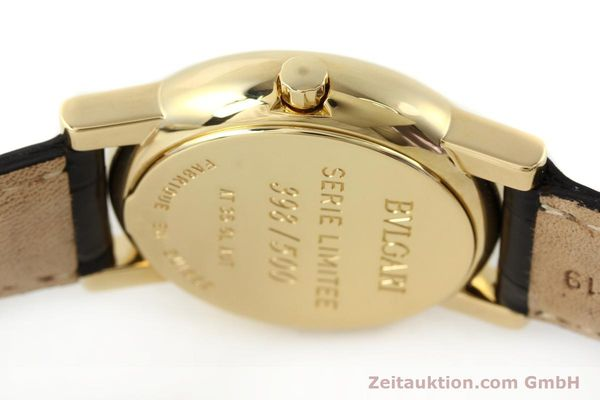 Used luxury watch Bvlgari Anfiteatro 18 ct gold automatic Kal. 220-MBBE Ref. AT35GLAUT  | 141764 12