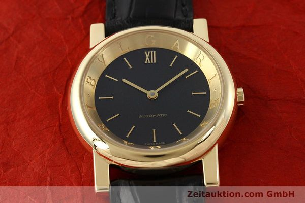 Used luxury watch Bvlgari Anfiteatro 18 ct gold automatic Kal. 220-MBBE Ref. AT35GLAUT  | 141764 17