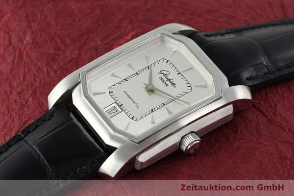 Used luxury watch Glashütte Senator steel automatic Kal. 39  | 141766 01