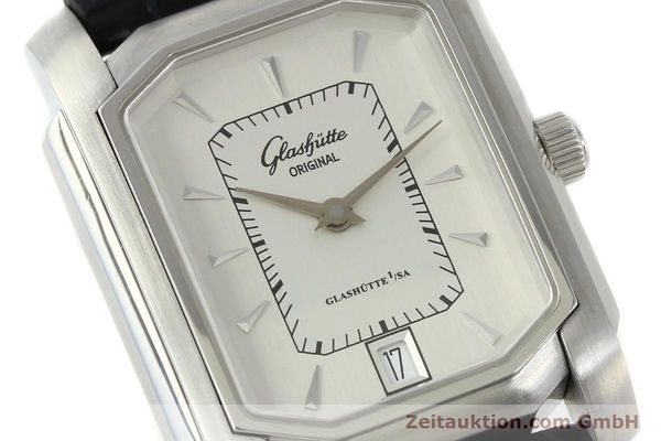 Used luxury watch Glashütte Senator steel automatic Kal. 39  | 141766 02