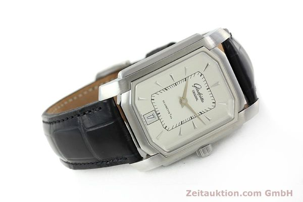 Used luxury watch Glashütte Senator steel automatic Kal. 39  | 141766 03