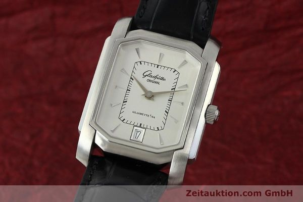 Used luxury watch Glashütte Senator steel automatic Kal. 39  | 141766 04