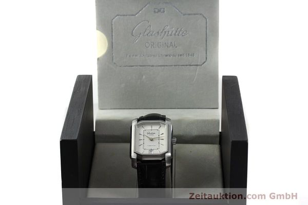 Used luxury watch Glashütte Senator steel automatic Kal. 39  | 141766 07