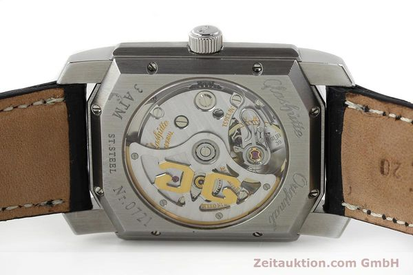 Used luxury watch Glashütte Senator steel automatic Kal. 39  | 141766 09