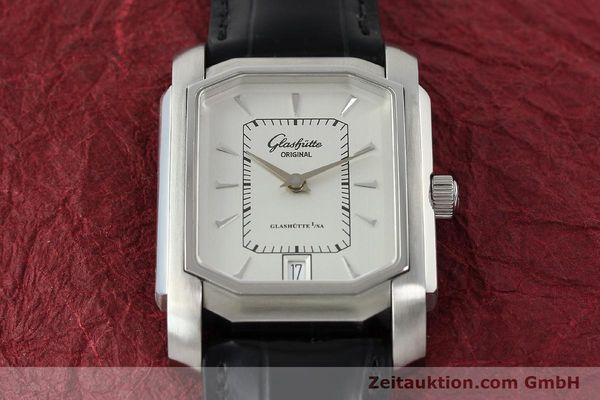 Used luxury watch Glashütte Senator steel automatic Kal. 39  | 141766 14