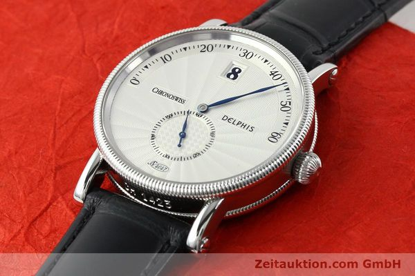 Used luxury watch Chronoswiss Delphis steel automatic Kal. C124 Ref. CH1423  | 141770 01