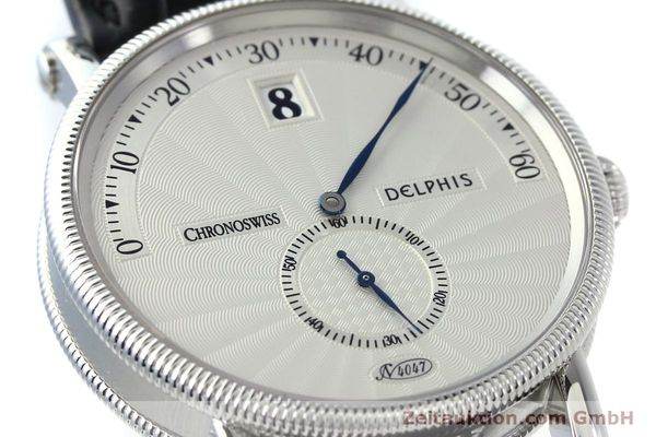 Used luxury watch Chronoswiss Delphis steel automatic Kal. C124 Ref. CH1423  | 141770 02