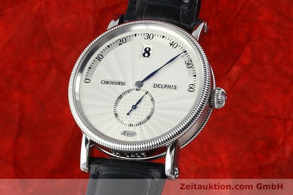 Used luxury watch Chronoswiss Delphis steel automatic Kal. C124 Ref. CH1423  | 141770 04