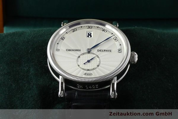 Used luxury watch Chronoswiss Delphis steel automatic Kal. C124 Ref. CH1423  | 141770 07