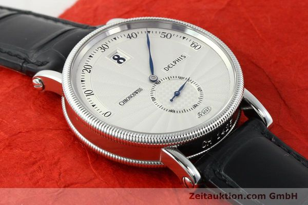 Used luxury watch Chronoswiss Delphis steel automatic Kal. C124 Ref. CH1423  | 141770 14