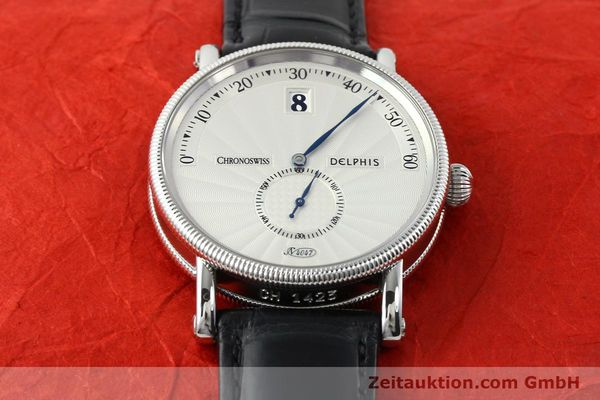 Used luxury watch Chronoswiss Delphis steel automatic Kal. C124 Ref. CH1423  | 141770 15