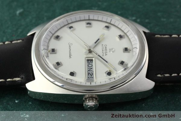 Used luxury watch Omega Seamaster steel automatic Kal. 752 Ref. 166.064  | 141772 05