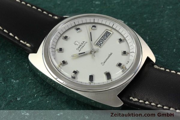 Used luxury watch Omega Seamaster steel automatic Kal. 752 Ref. 166.064  | 141772 13