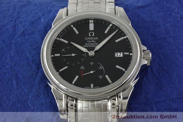 Used luxury watch Omega De Ville steel automatic Kal. 2627  | 141774 15