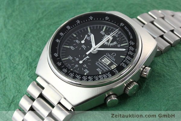 Used luxury watch Omega Speedmaster chronograph steel automatic Kal. 1045 Ref. 176.0012  | 141777 01