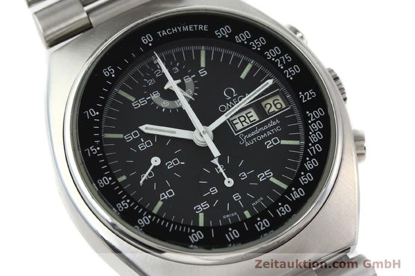 Used luxury watch Omega Speedmaster chronograph steel automatic Kal. 1045 Ref. 176.0012  | 141777 02