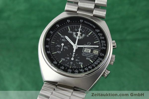 Used luxury watch Omega Speedmaster chronograph steel automatic Kal. 1045 Ref. 176.0012  | 141777 04