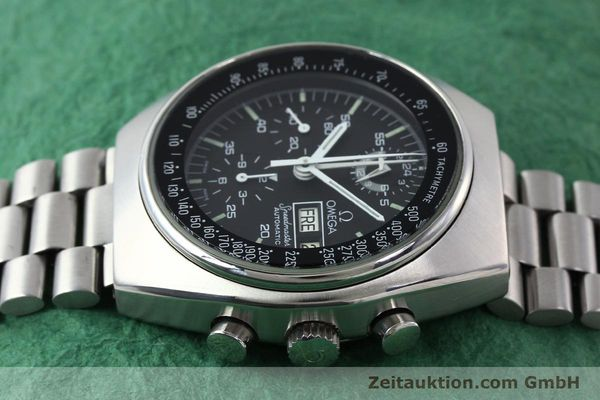 Used luxury watch Omega Speedmaster chronograph steel automatic Kal. 1045 Ref. 176.0012  | 141777 05