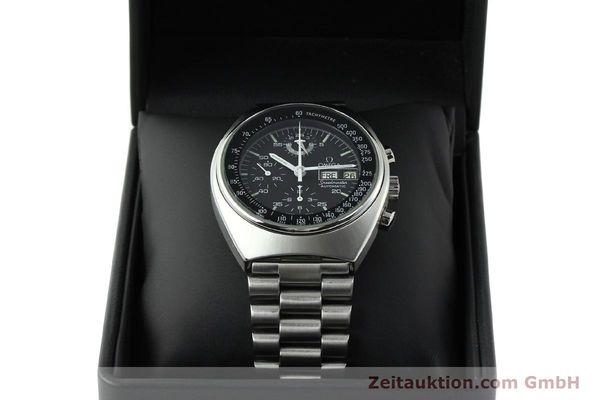 Used luxury watch Omega Speedmaster chronograph steel automatic Kal. 1045 Ref. 176.0012  | 141777 07