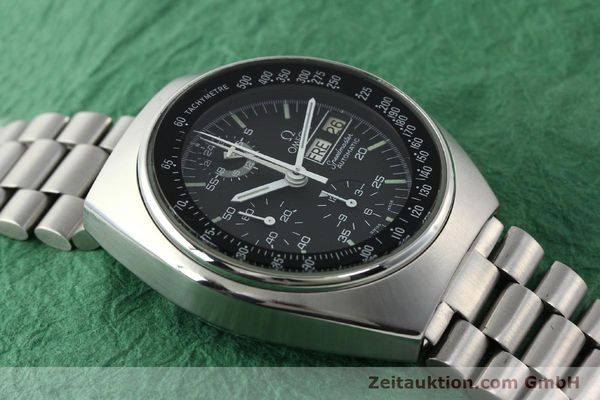 Used luxury watch Omega Speedmaster chronograph steel automatic Kal. 1045 Ref. 176.0012  | 141777 15