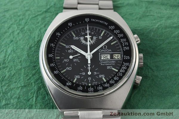 Used luxury watch Omega Speedmaster chronograph steel automatic Kal. 1045 Ref. 176.0012  | 141777 16