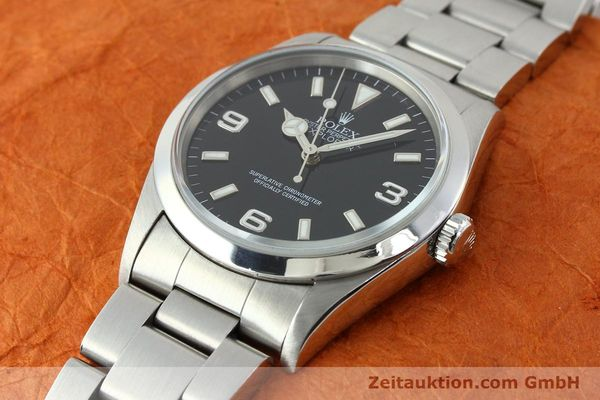 Used luxury watch Rolex Explorer steel automatic Kal. 3000 Ref. 14270  | 141779 01