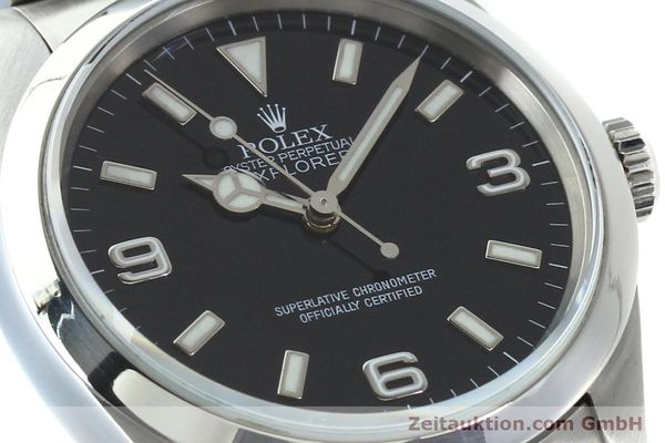 Used luxury watch Rolex Explorer steel automatic Kal. 3000 Ref. 14270  | 141779 02