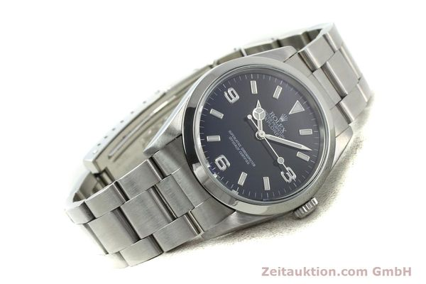 Used luxury watch Rolex Explorer steel automatic Kal. 3000 Ref. 14270  | 141779 03